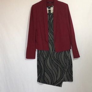 Jackets & Blazers - Cherry red boutique blazer
